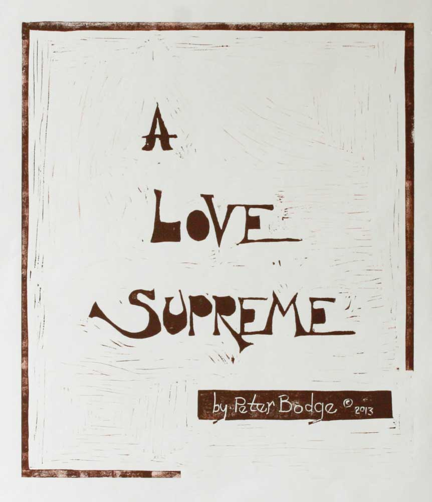 A Love Supreme: Cover (John Coltrane)