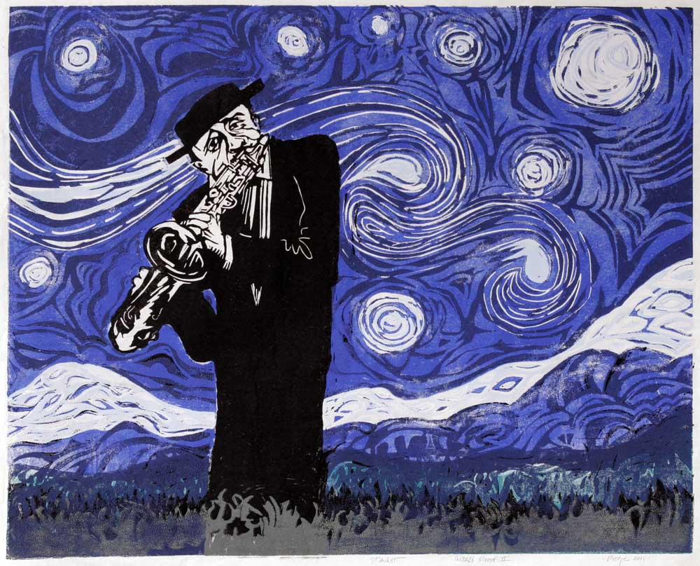 Stardust © 2012 A tribute to Lester Young and to Vincent Van Gogh